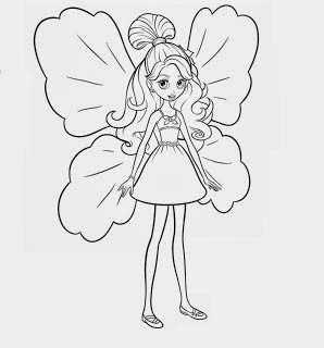 desenhos para imprimir e colorir de Fadinha