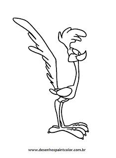 desenhos para imprimir e colorir do papaléguas