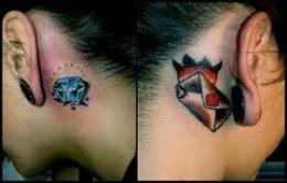 Tatuagem diamantes