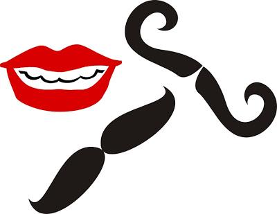 molde de boca e bigode