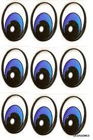 molde de olho