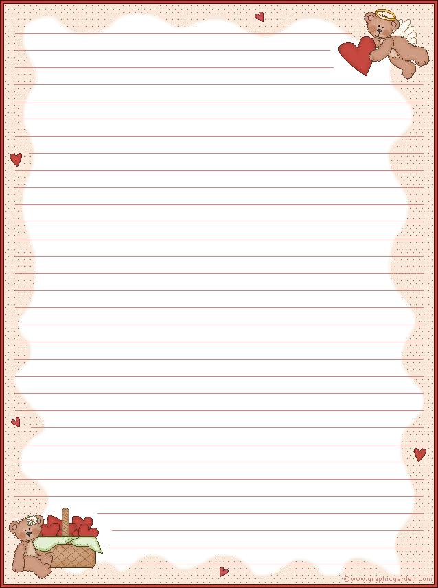 Papel de carta de amor