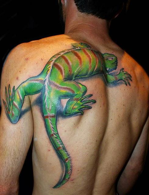tatuagens de lagarto