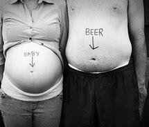montagens com fotos de grávidas