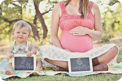 fotos de grávidas com a filha