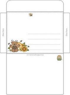 Modelos De Envelopes Para Imprimir Infantil E Adulto Papo Ativo