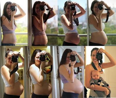 lindas fotos de grávidas