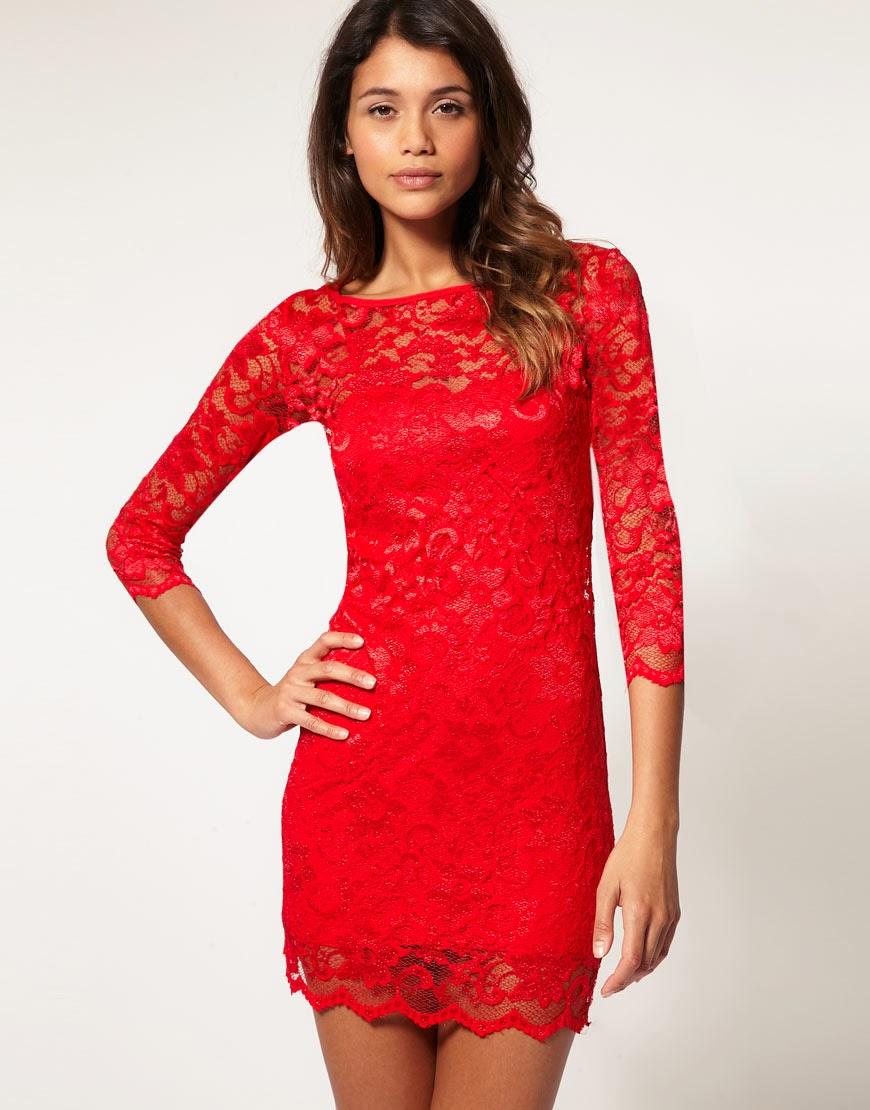 vestido vermelho para o natal