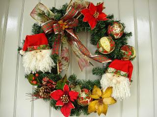 Enfeites de Natal para Portas - Guirlandas