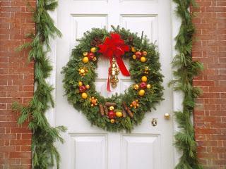 Enfeites de Natal para Portas