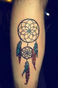 tatuagem de filtro dos sonhos