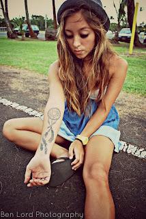 tatuagem de filtro dos sonhos no braço