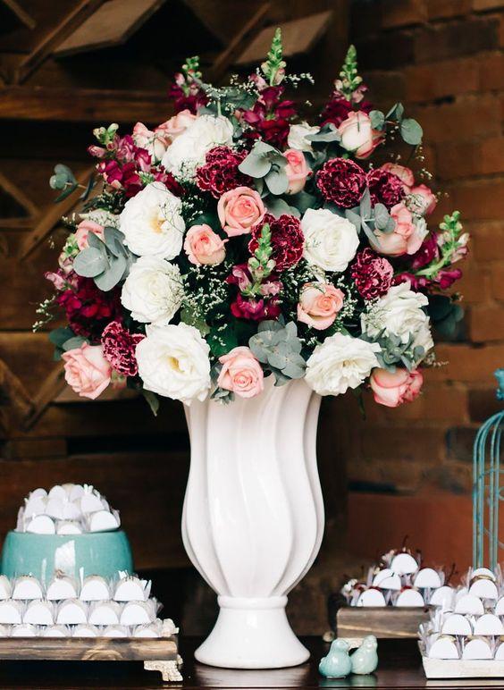 Arranjos de Flores para Casamento