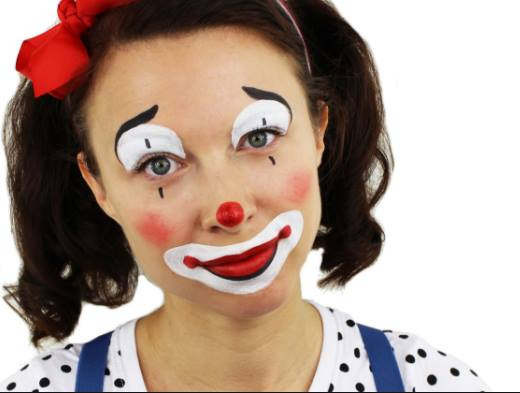 Maquiagem de Palhaço – Passo a Passo