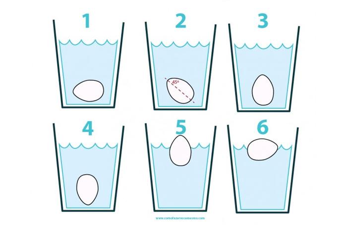Como saber se o ovo ta bom ou estragado