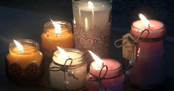 Como Fazer Velas Decorativas e Perfumada